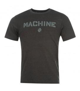 Koszulka Clinch Gear model MACHINE kolor czarny melanz