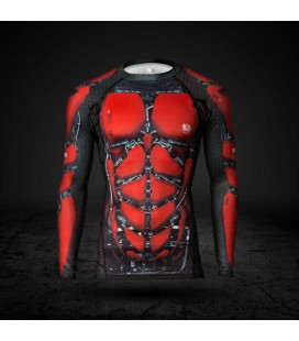 Rashguard Red is Bad Symbio CZ-XG-15 8-panelowy dr
