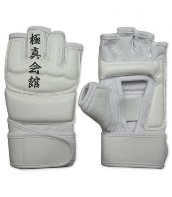 Lekkie rękawice do Karate Kyokushin kolor biały