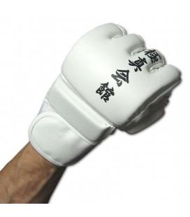 Rękawice do MMA model Kyokushinkai kolor biały