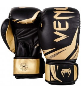 Rękawice bokserskie Venum model Challenger 3.0 czarno złote