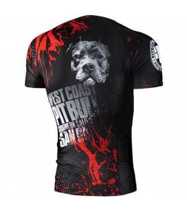 Rashguard Pit Bull  model Blood Dog