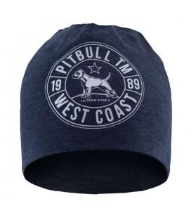 Czapka Pit Bull model Cal Flag niebieski melange