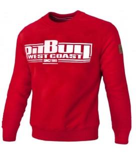 Bluza Pit Bull model Classic Boxing 18 czerwona