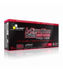 Olimp L-CARNITINE 1500 Extreme Mega Caps®/Mega Capsules® 30kaps
