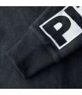 Bluza PitBull rozpinana z kapturem model Hilltop ciemny szary