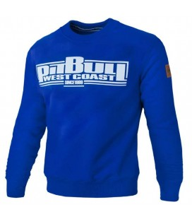 Bluza Pit Bull model Classic Boxing 18 royal blue