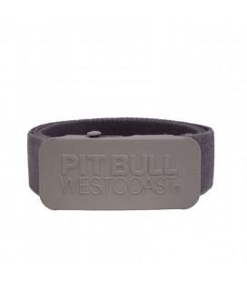 Pasek parciany Pit Bull model TNT szary
