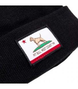 Czapka zimowa Pit Bull model California Dog kolor czarny