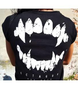 Koszulka damska Octagon model Zęby