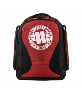 Plecak - torba Pit Bull model Escala duży czarno czerwony