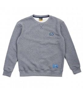 Bluza MANTO bez kaptura model Emblem szara