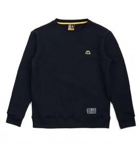 Bluza MANTO bez kaptura model Emblem czarna