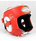 Kask turniejowy Masters model KT-Comfort czerwony