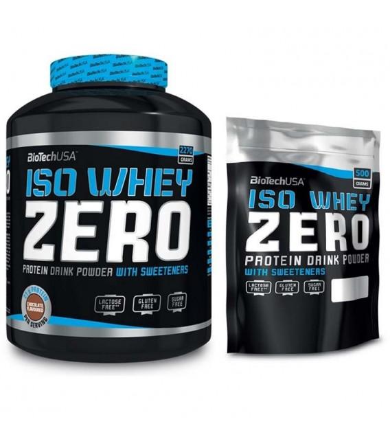 BioTech Iso Whey Zero 2270g białko +  gratis PROMOCJA!!