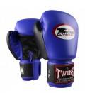 Rękawice bokserskie TWINS Special model BGVL-3T niebieskie