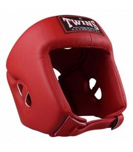 Kask turniejowy firmy Twins Special model HGL-4 czerwony
