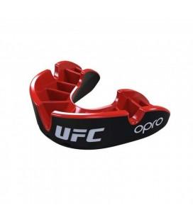 Ochraniacz zębów UFC Opro Silver Black szczęka