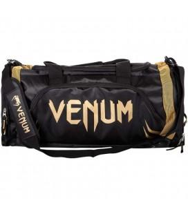 Torba sportowa Venum model Trainer Lite czarno złota