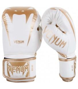 Rękawice do boksu Venum model GIANT 3.0 biało złote