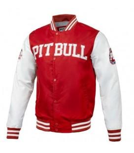 Kurtka bomberka Pit Bull model Wilson czerwona