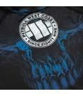 Rashguard Pit Bull Mesh Performance Pro Blue Skull