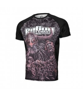 Rashguard Pit Bull Mesh Performance Pro+ model Warrior XVIII