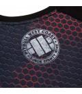 Rashguard Mesh Pit Bull model Iron Logo