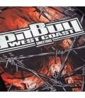 Rashguard Mesh Pit Bull Wired Skull długi rękaw