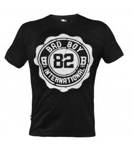 Koszulka Bad Boy Crest Tee - Czarna