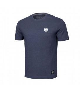 Koszulka Pit Bul model Small Logo 2019 granatowy melange