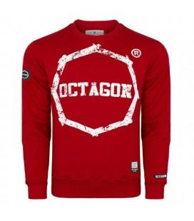 Bluza Octagon modelLogo Smash czerwona