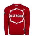 Bluza Octagon model Logo Smash czerwona
