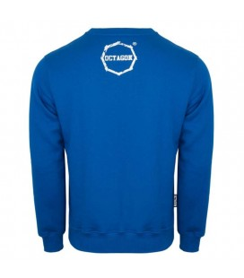Bluza Octagon model Logo Smash niebieska