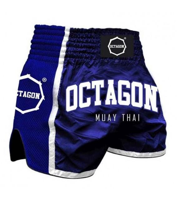 Spodenki Octagon model Muay Thai nieskie