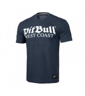 Koszulka Pit Bul model Old Logo granatowy melange