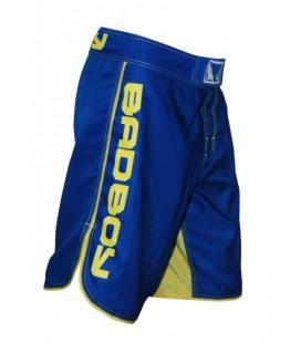 Spodenki Bad Boy MMA -  niebieski / żółty