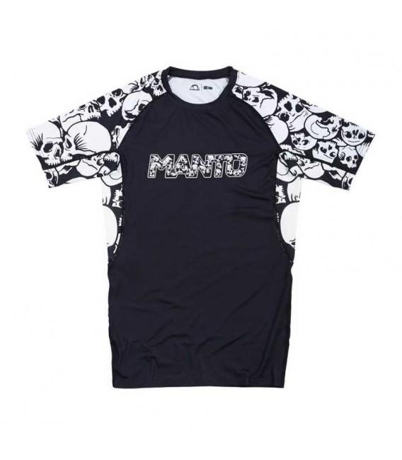 Rashguard Manto Skulls krótki rękaw