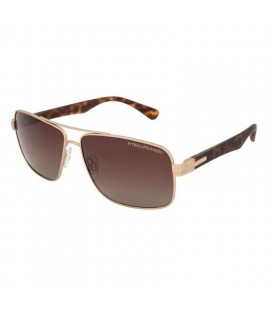 Okulary przeciwsłoneczne Hofer Pit Bull gold