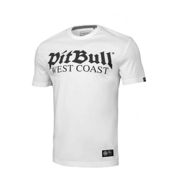 Koszulka Pit Bul model Old Logo biała
