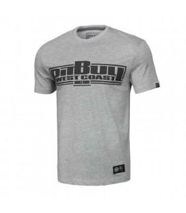 Koszulka Pit Bull model Classic Boxing 19 szary melanż