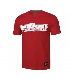 Koszulka Pit Bull model Classic Boxing 19 czerwona