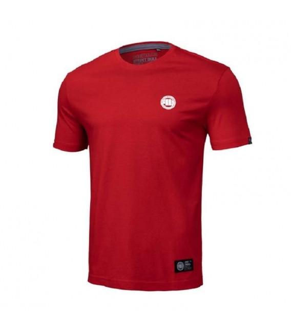 Koszulka Pit Bul model Small Logo  19  czerwona