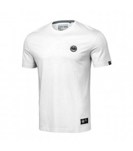 Koszulka Pit Bull model Small Logo 2019 biała
