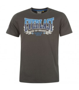 Koszulka Everlast typu t-shirt kolor ciemny szary