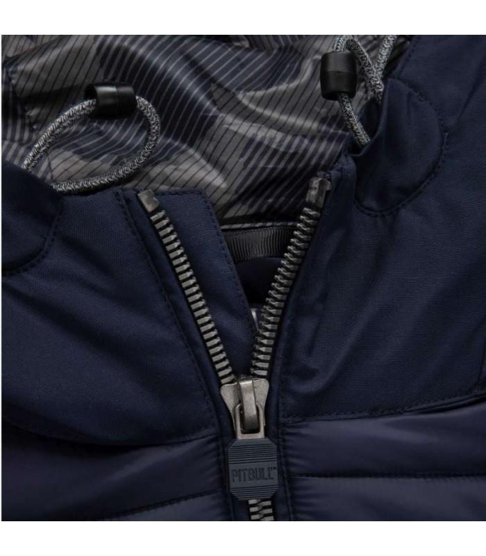 Kurtka zimowa Tremont firmy Pit Bull granatowa przejściówka