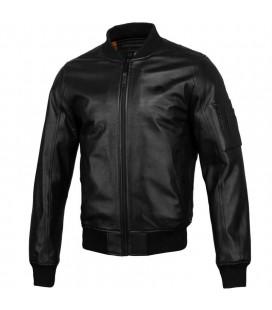 Kurtka skórzana przejściowa Pit Bull model MA-1 Leather