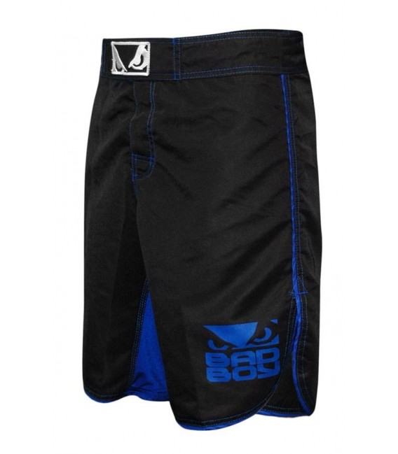 Spodenki Bad Boy MMA - czarny / niebieski