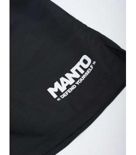 Spodenki MANTO model DEFEND czarno-białe