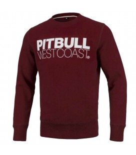 Bluza PIT BULL model TNT 19 burgundy